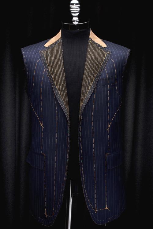 Unfinished suit