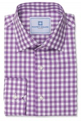 2014 Spring/Summer Collections Purple Gingham