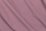 Close up of Red Mini Gingham Shirt Fabric