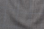 Close Up view Pocket Square Grey Prince Of Wales Fabric in super 120s wool