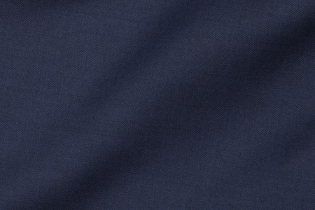 Close up view of Bohemian Navy Fabric in Super 130s